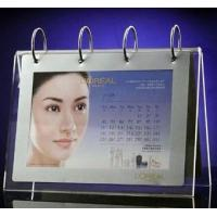 Buy cheap Fashional Shape Acrylic Calendar Holder With Photo Frame product