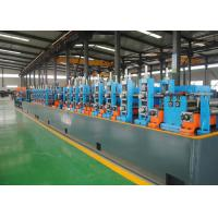 Buy cheap SS ERW Tube Mill Line / Pipe Making Machine Low Carbon Steel Materials product