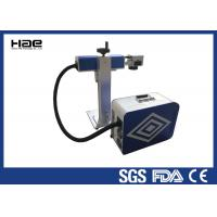 Buy cheap 0 - 100 KHz Fiber Laser Marking Machine For Animal Ear Tags / Auto Parts product