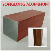 Buy cheap High Transparency Aluminium Furniture Profiles For Wardrobe , 1.2 / 1.4 Thinckness product