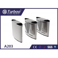 Buy cheap Infrared Sensors Access Control Turnstile Gate Cinema Ticket Checking System product
