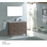Buy cheap Modern PVC Floor Mounted Bathroom Cabinets 1000*550*900mm with Four Drawers product