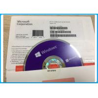 Buy cheap 32/64 BIT DVD Windows 10 Pro Pack , Microsoft Windows 10 Home 64 Bit OEM 1709 Version from wholesalers