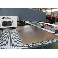 Buy cheap Servo Type CNC Punch Press Machines With Auto Index 80m/Min Traversing Speed product