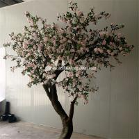 Buy cheap Pink Standard Rose Artificial Flower Tree 2m Height Environmental Protection product