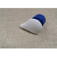 Quality White / Blue Cosmetic Plastic Lotion Pump 1 . 3 - 1 . 5CC Dosage Output for sale