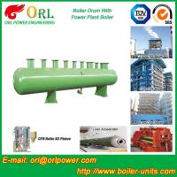 Buy cheap Diesel Water Heat Boiler Steam Drum Thermal Insulation SGS Certification product