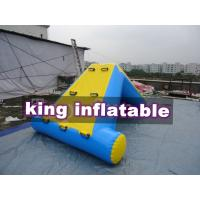 Buy cheap Commercial 0.9mm PVC Tarpaulin Inflatable Big Air Slide For Water Park product