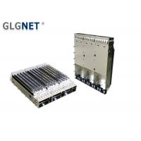 Buy cheap 1X3 Ganged Metal QSFP28 Cage EMI Tabs Heat Sink For EMI Protection product