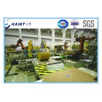 Buy cheap Jumbo Automatic Paper Roll Wrapping Machine Modular Design For Paper Mill product