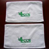 Buy cheap China Factory Professional Customized 100% Cotton Absorbent Embroidery Towel With Custom Logo from wholesalers