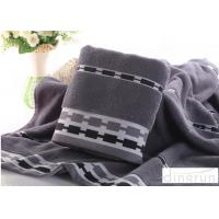 Buy cheap Jacquard Style Microcotton Bath Towels Natural Anti Bacterial 400 Gsm product