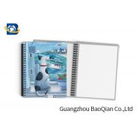 Buy cheap Durable Custom Printed Notebooks , A4/A5/A6 3D Lenticular Cover CMYK Offset Printing product