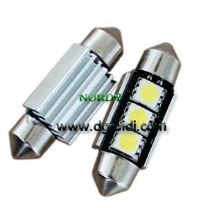 Buy cheap Led Festoon canbus light 3pcs 5050 SMD Auto led canbus 3W 39mm bulb product