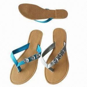 Buy cheap Ladies flat flip-flops in cool design product