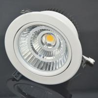 China 30W 2400lm COB LED Downlight  60 Degree Replacement 150W Halogen Lamps on sale