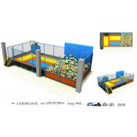 China The 73M2 Small Size Indoor Trampoline Park with Basketball Game and Foam Pit wholesale