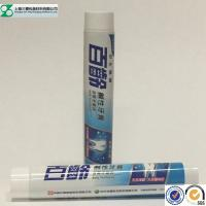 Buy cheap Empty Toothpaste Cosmetic Cream Laminate Tube , Aluminum Barrier Laminated Teeth Whitening Tube product
