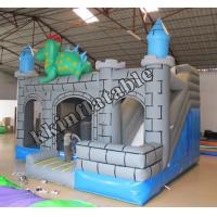 China  Cheap Price Castle House Inflatable dinosaur Combo With Slide Kzh-g010 On Top Selling  for sale