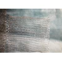 Buy cheap Plastic Material Stainless Steel Wire Mesh Demister Pad Bright Nature Color product