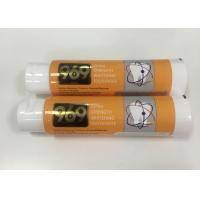 Buy cheap Whitening Toothpaste Plastic Tube Package With Big Flip Top Cap , DIA40*138mm product