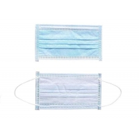 Buy cheap Large Stock Non Woven Public Place Anti Virus 3ply Face Mask product