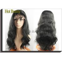 Buy cheap Human Hair Front Lace Wigs With Bangs  product