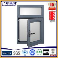 Buy cheap powder coating frames aluminium casement window with mosquito nets product