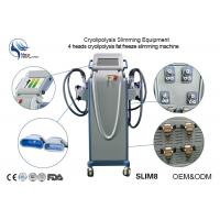 China Cryolipolysis Fat Freeze Slimming Machine With CE Certificattion With Four Handpiece wholesale