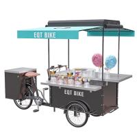 Buy cheap Steel Frame Compact  Mobile Snack Cart Fashion Design CE Certificate product