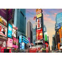 Buy cheap SMD/DIP Outdoor LED Display for Advertisign Custom Size Fixed LED Billboard product