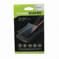 Buy cheap Screen Protector for Samsung/HTC/Mobile Phone, Anti-scratch/-dirt and High Transparent product