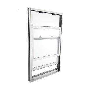 Buy cheap Anodized Aluminium Sliding Windows Vertical Clear Tempered Glass 8mm Thickness product