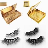 Buy cheap Wholesale mink eyelashes vendor with custom eyelash packaging from wholesalers