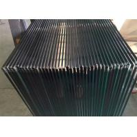 Buy cheap Clear Tempered Glass Railing Panels / 4mm Colored Tempered Glass Sheets product