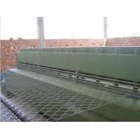 Buy cheap Hydraulic Stainless Steel Wire Mesh Cutting Machine / Gabion Production Line product