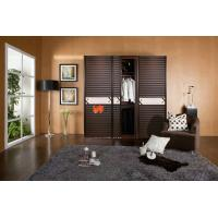 Buy cheap Anti aging / Space Saving Double Plastic Remote Control Sliding Doors Without Glass product