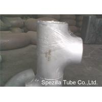 China ASTM A403 Stainless Steel Pipe Fittings Schedule 5S 10S 40S Reducing Tee NPS 1/2'' - 24'' on sale