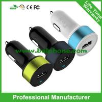 Buy cheap Mini and Stylish USB Car Charger 2.1A for Truck and Car 12-24V Up to 12 Color Combination product