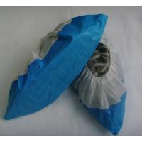 China Disposable Polypropylene Shoe Covers , Plastic Protective Shoe Covers Dust Proof on sale