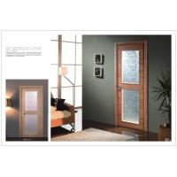 Buy cheap Interior Side Hinged Doors, Decorative Swing Hinge Door for Office With Carved HDF Board product