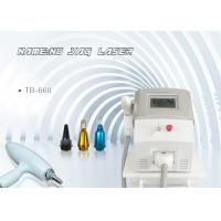China Portable 1064nm 532nm 1320nm Carbon Peeling ND YAG Laser Tattoo Removal Machine wholesale