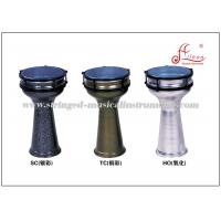 Buy cheap Aluminum Turkish Darbuka Percussion Musical Instruments Color Powder Coated product