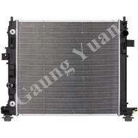 Quality Custom Cadillac Cross Flow Aluminum Truck Radiators Water Cooled DPI 13351 13349 for sale
