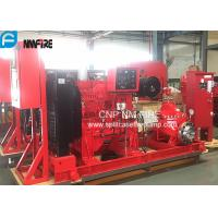 Buy cheap UL/FM  Listed Diesel Engine Drive Fire Pump With 1500usgpm @ 102m Horizontal Split case Pump product