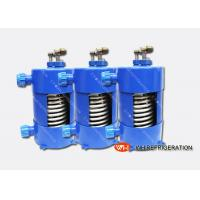 Buy cheap Titanium Heat Exchanger For Salt Water Aquarium Chiller With Corrugated Tube from wholesalers