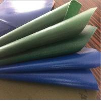 Buy cheap 100% Polyester 610g Vinyl Coated PVC Tarpaulin Fabric Super Heavy Duty 18oz product
