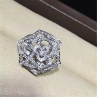 Piaget  full diamonds of hollow rose ring 18kt gold  with white gold or yellow gold