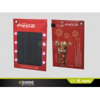 Buy cheap High Power Portable Solar Ad charger for Mobile, Solar Power Bank for Mobile Phone product