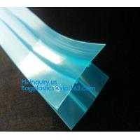 Buy cheap plastic flange zipper without teeth, PP/PE/PVC/EVA Plastic Flange Zipper For Pouch, PP/PE/PVC/EVA Plastic Flange Zipper product